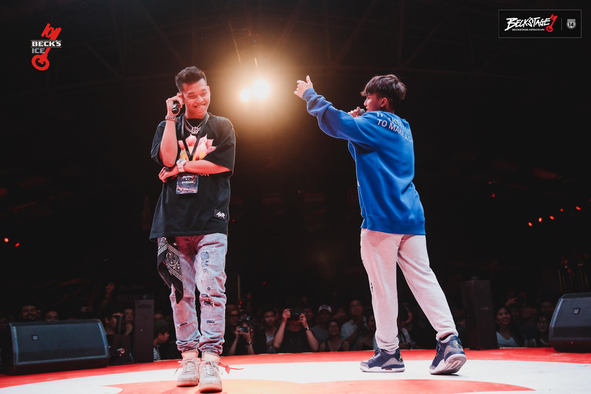 Ngôi vô địch BeckStage Battle Rap đã có chủ: Sóc Nâu và Phúc Du giành lấy ngôi vương đầy thuyết phục, một tương lai đầy hy vọng của rap Việt! - Ảnh 5.