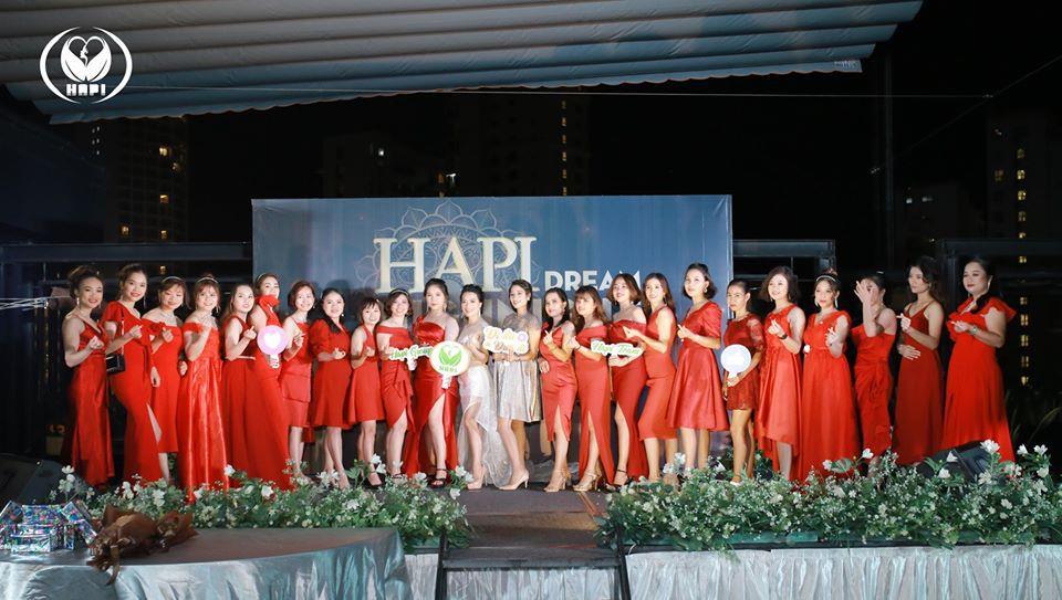 """Đêm tiệc ngàn sao """"Hapi Dream Night"""" tinh tế và sang trọng của công ty mỹ phẩm Hapi Group - Ảnh 1."""