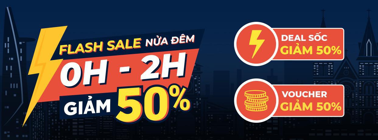 Flash sale nửa đêm chắc là hot nên tín đồ săn deal đồng loạt hẹn gặp lúc 0H mỗi ngày trên Shopee - Ảnh 1.