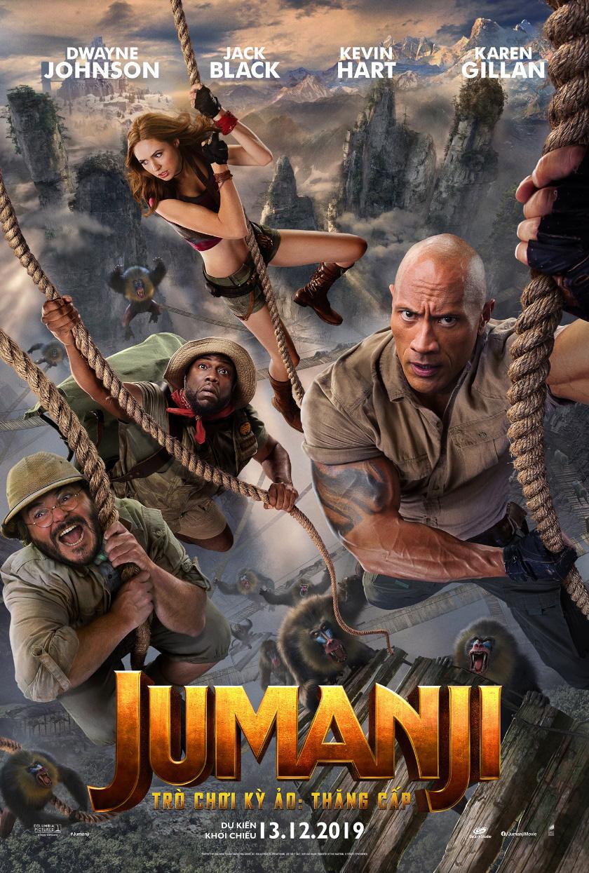 Những gì bạn biết về Jumanji xưa rồi, đây mới là phiên bản nâng cấp nhất định phải xem! - Ảnh 1.