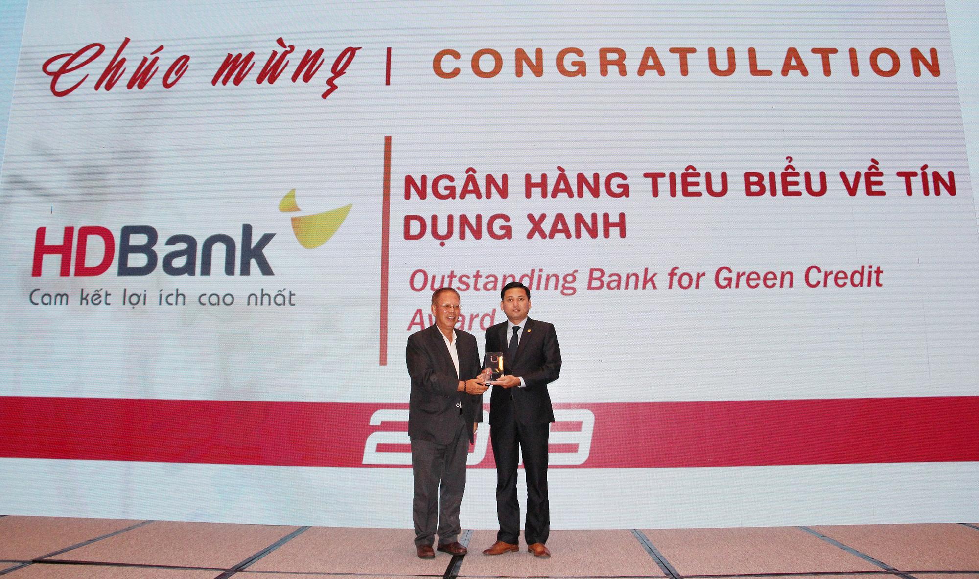HDBank nhận giải Ngân hàng tiêu biểu về Tín dụng Xanh - Ảnh 1.