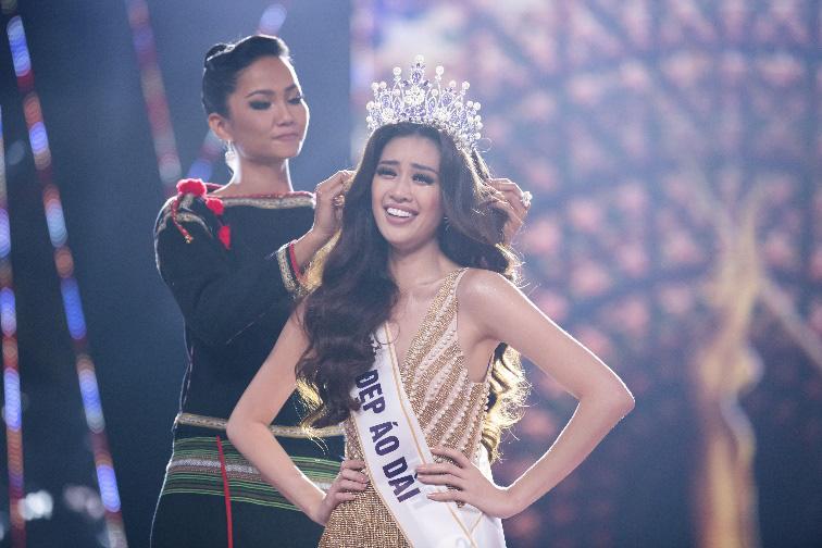 Tân Hoa hậu Nguyễn Trần Khánh Vân được trao vương miện Brave Heart - Ảnh 1.