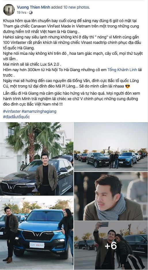Dàn sao Việt rủ nhau thẳng tiến Hà Giang, ai cũng tự hào vì được lái VinFast - ảnh 5