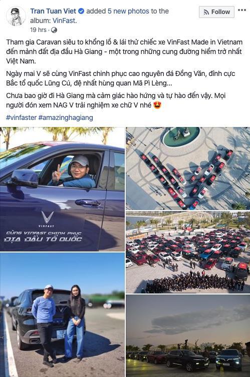 Dàn sao Việt 'rủ' nhau thẳng tiến Hà Giang, ai cũng tự hào vì được lái VinFast - Ảnh 6.