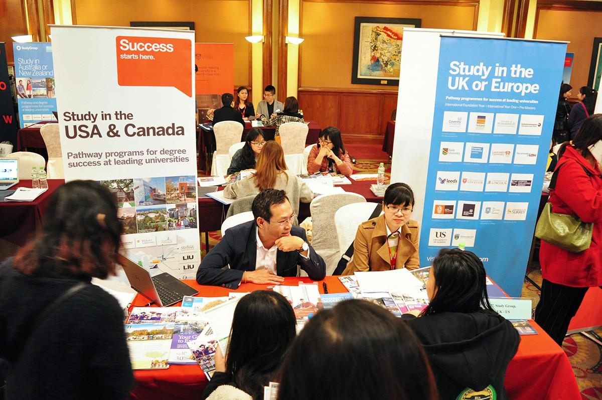 Mời gặp đại diện hơn 20 trường Anh - Mỹ - Canada tại Triển lãm du học - Ảnh 2.