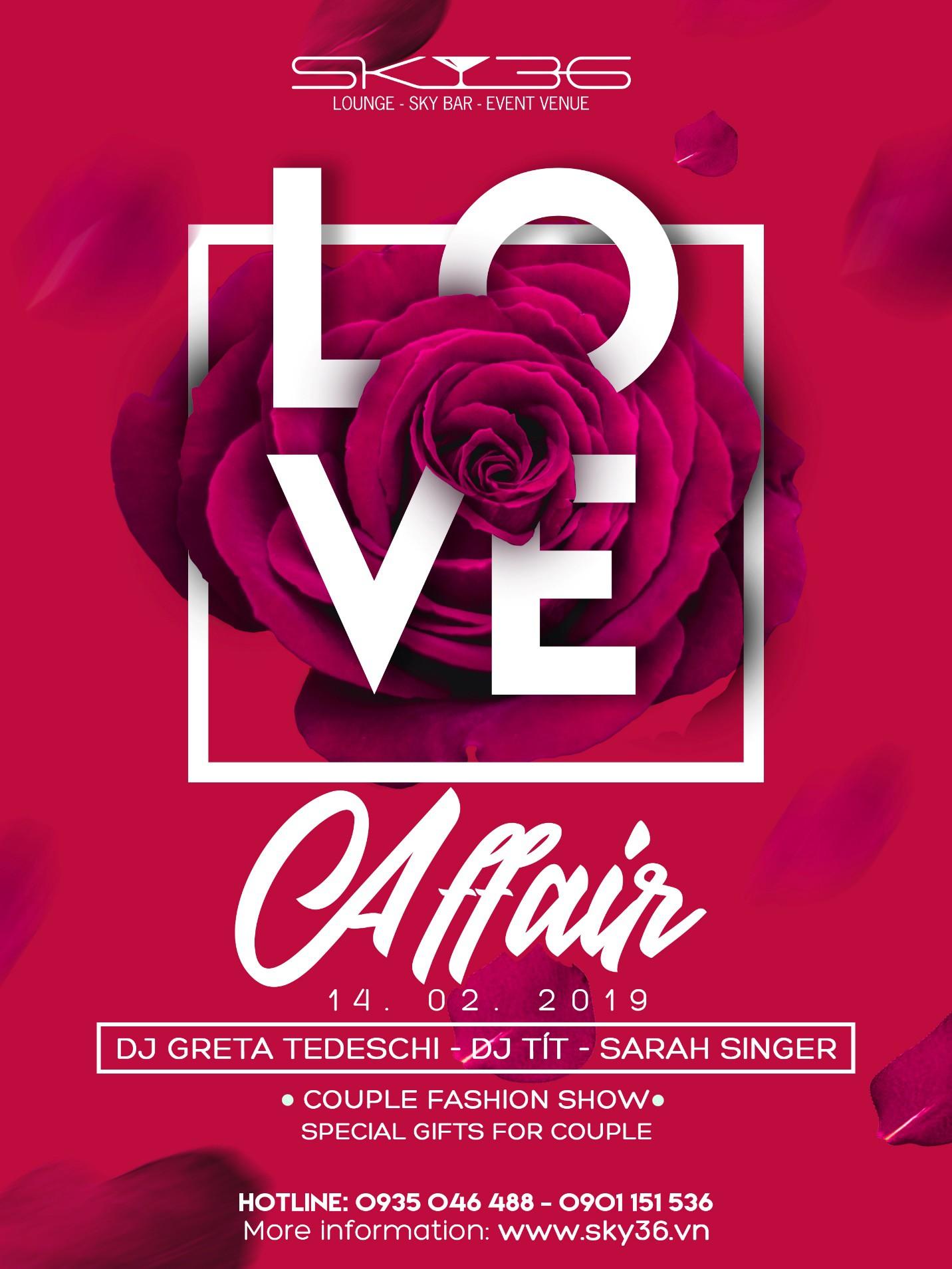 """Valentine nồng cháy cùng DJ Tít trong sự kiện """"Love affair"""" tại Sky36 - Ảnh 5."""