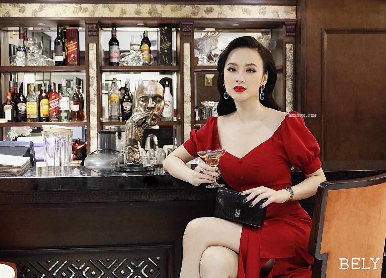 Dàn mỹ nhân Việt đồng loạt đụng hàng mẫu váy siêu hot của thời trang BELY - Ảnh 3.