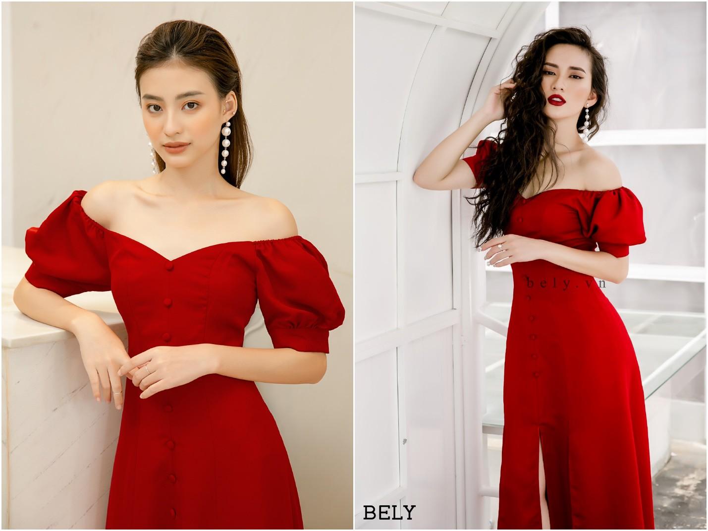 Dàn mỹ nhân Việt đồng loạt đụng hàng mẫu váy siêu hot của thời trang BELY - Ảnh 5.