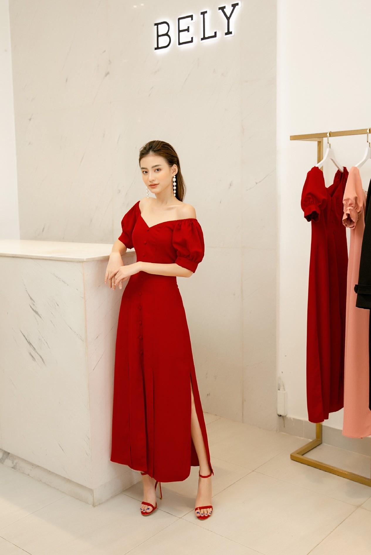 Dàn mỹ nhân Việt đồng loạt đụng hàng mẫu váy siêu hot của thời trang BELY - Ảnh 6.