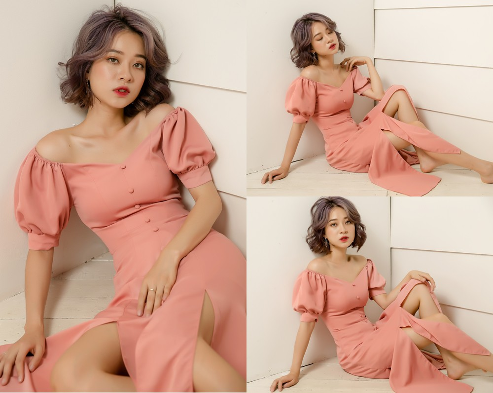 Dàn mỹ nhân Việt đồng loạt đụng hàng mẫu váy siêu hot của thời trang BELY - Ảnh 9.