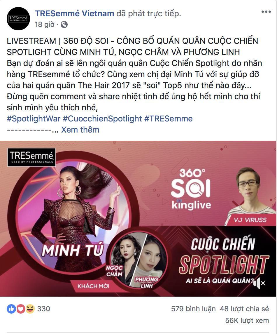 Cuộc Chiến Spotlight chính thức lộ diện quán quân được chọn lựa bởi Hoa hậu Minh Tú - Ảnh 1.