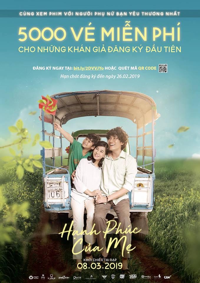5000 vé xem phim hạnh phúc của mẹ cùng người phụ nữ bạn yêu thương - Ảnh 1.