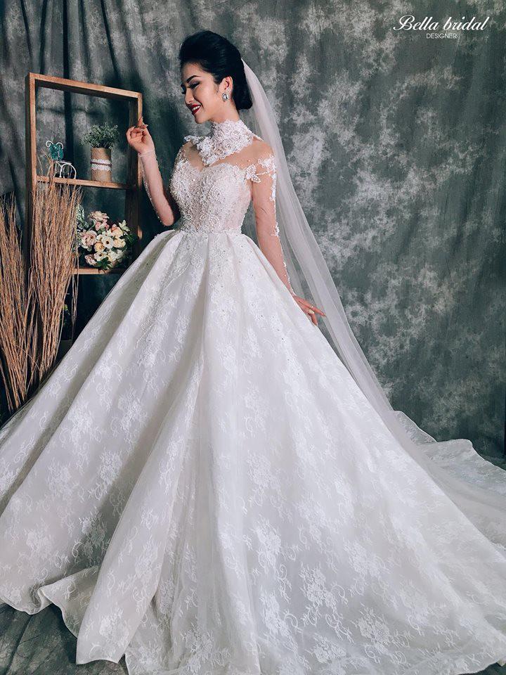Váy cưới 2019: 5 mẫu váy cưới sẽ lên ngôi mà cô dâu cần biết - Ảnh 6.