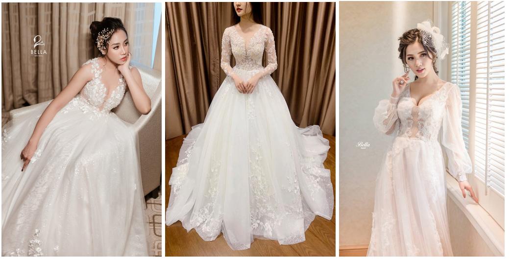 Dự đoán5 xu hướng váy cưới lên ngôi năm 2019 - Ảnh 2.