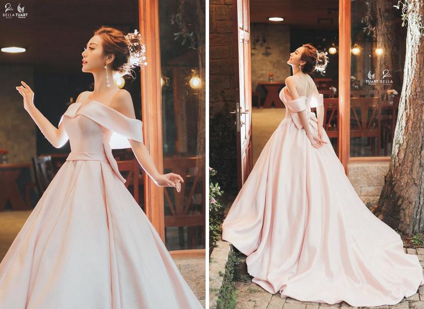 Váy cưới 2019: 5 mẫu váy cưới sẽ lên ngôi mà cô dâu cần biết- Ảnh 3.
