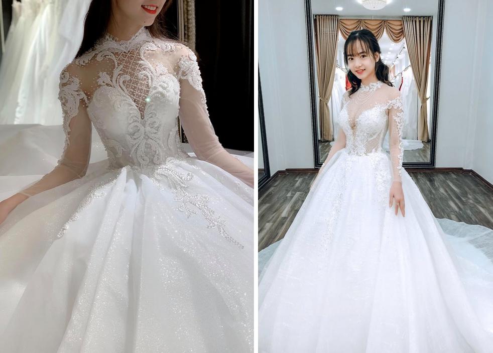 Váy cưới 2019: 5 mẫu váy cưới sẽ lên ngôi mà cô dâu cần biết - Ảnh 7.