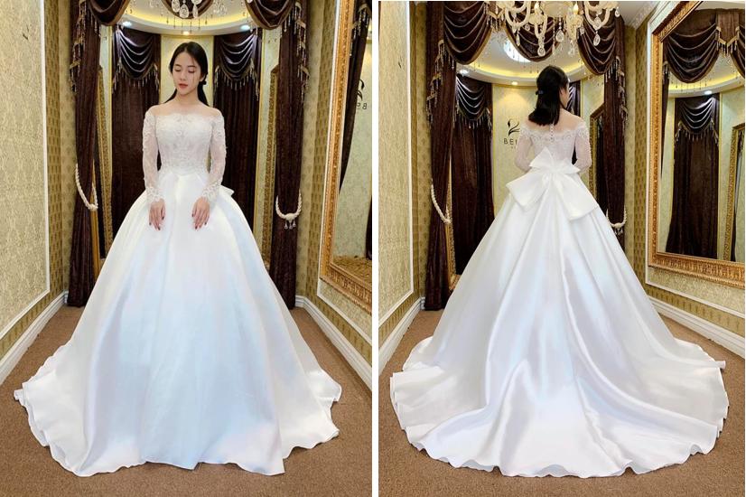 Váy cưới 2019: 5 mẫu váy cưới sẽ lên ngôi mà cô dâu cần biết - Ảnh 9.