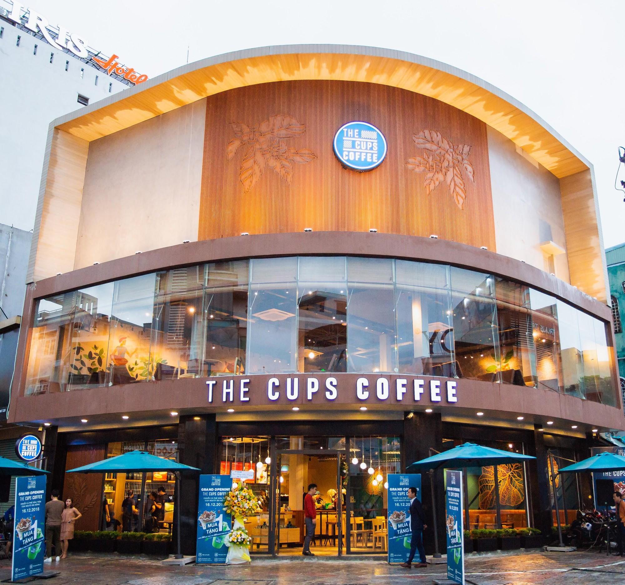 """Khám phá không gian chuỗi cửa hàng """"vạn người mê"""" của The Cups Coffe - Ảnh 2."""