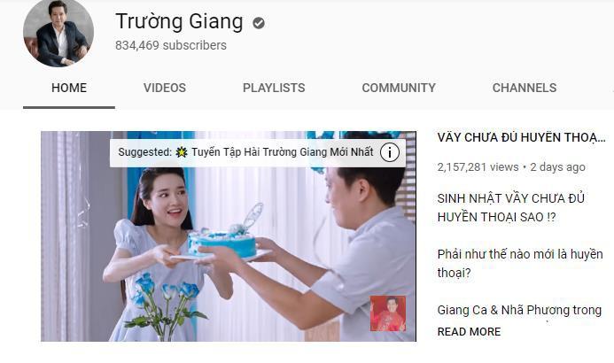 Cán mốc 2 triệu view sau 2 ngày, video mới của Trường Giang - Nhã Phương khiến nhà nhà tung ảnh chế - Ảnh 2.