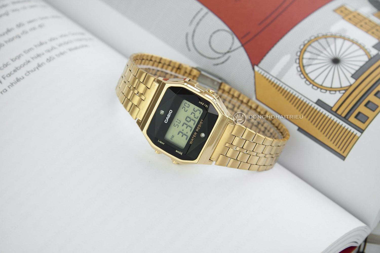 5 mẫu đồng hồ điện tử nữ có đính kim cương thật - Ảnh 2.