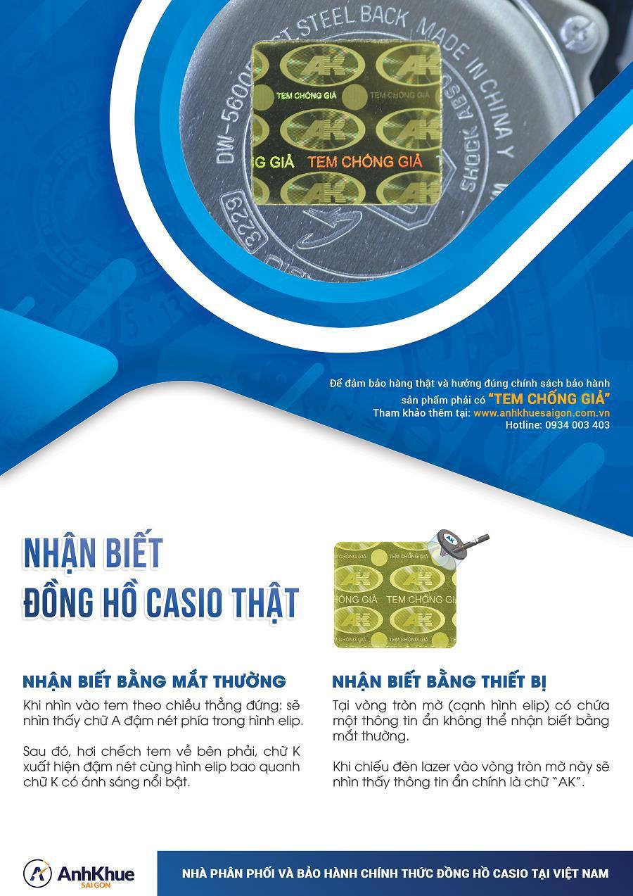 Kinh nghiệm mua đồng hồ Casio chính hãng chất lượng - Ảnh 4.