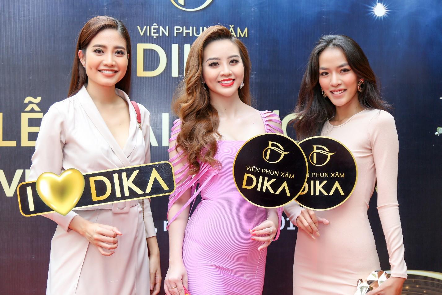 Hoa hậu Tiểu Vy ngời ngời khí chất dự khai trương viện phun xăm thẩm mỹ - Ảnh 6.