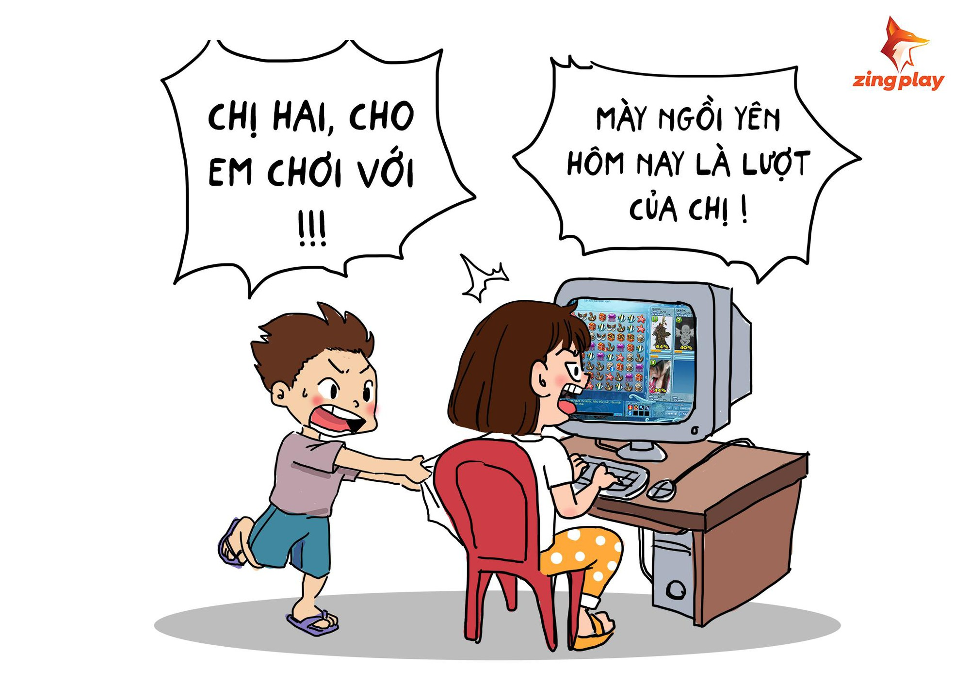 """Nhìn lại """"tuổi thơ dữ dội"""" của game thủ Việt bên cổng game giải trí ZingPlay - Ảnh 1."""