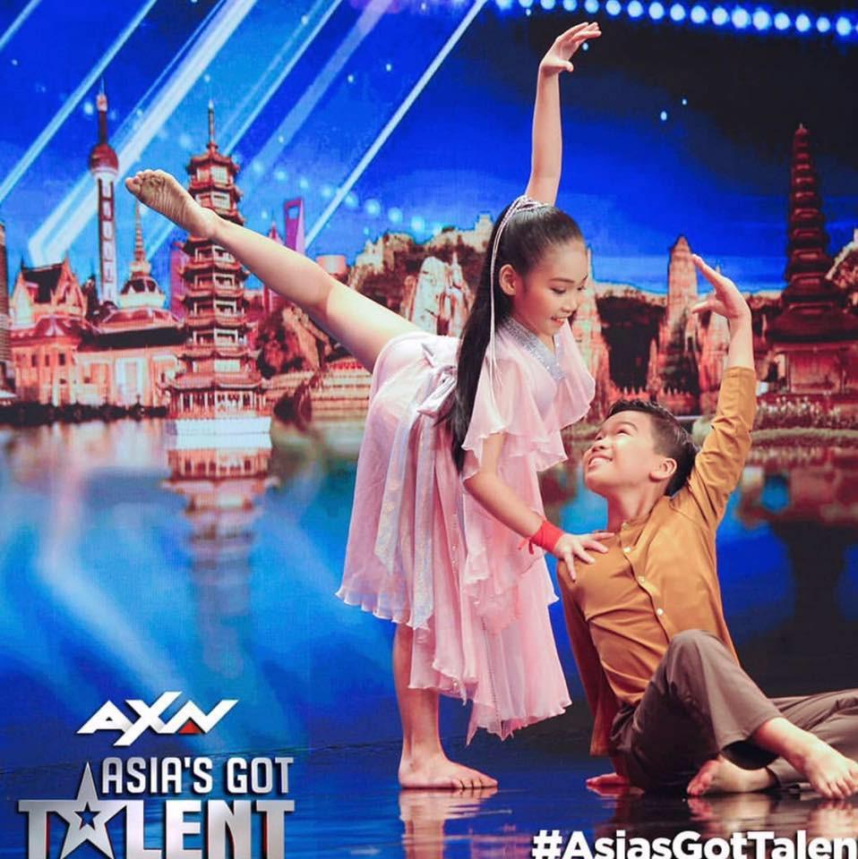 Khán giả trầm trồ trước cặp đôi nhí Việt tại Asia's Got Talent 2019 - Ảnh 4.
