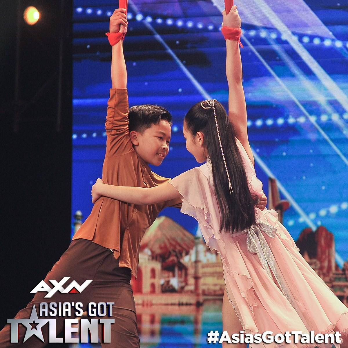 Khán giả trầm trồ trước cặp đôi nhí Việt tại Asia's Got Talent 2019 - Ảnh 5.