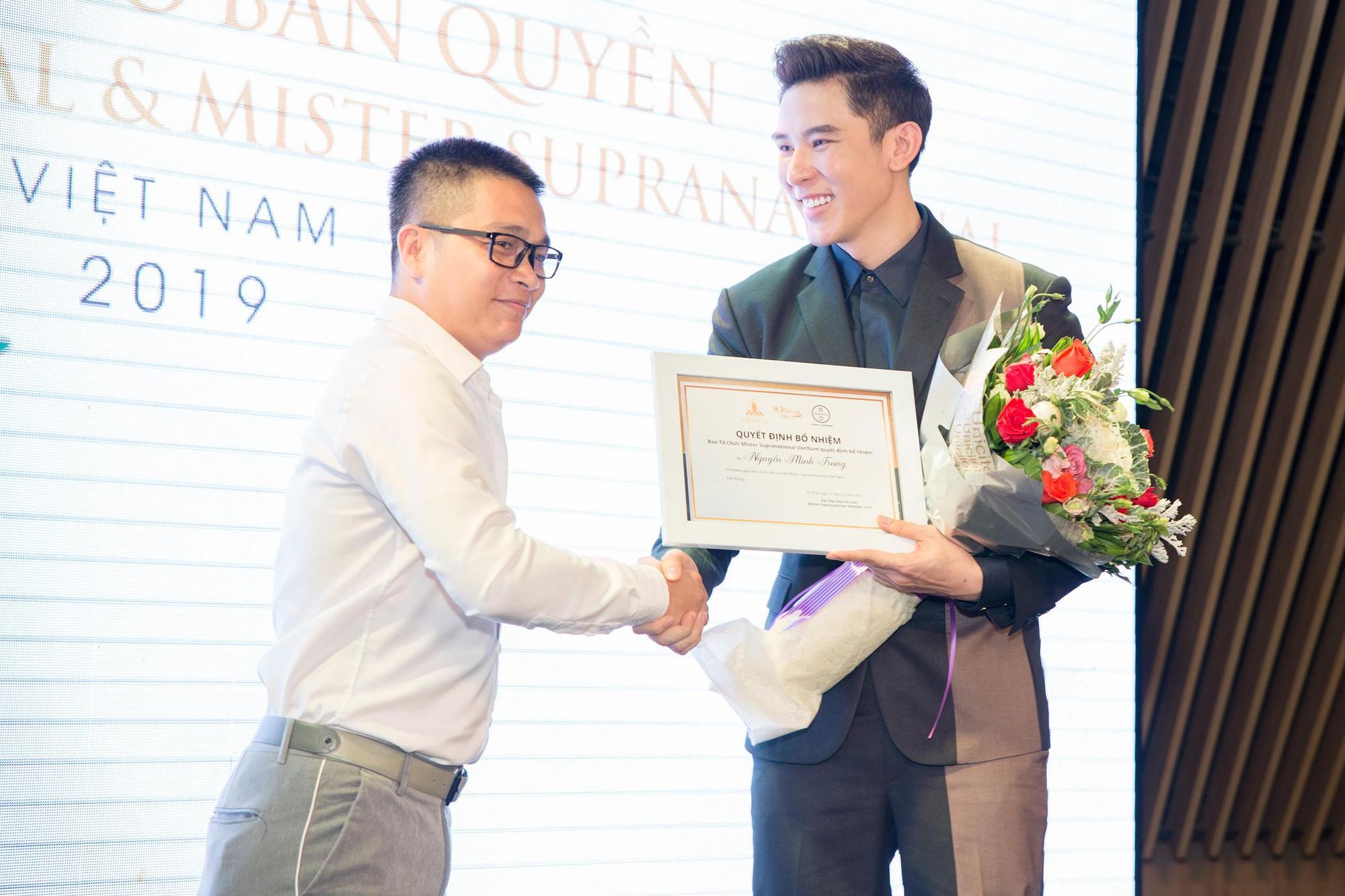 Siêu mẫu Minh Trung được bổ nhiệm làm giám đốc quốc gia Mister Supranational - Ảnh 1.