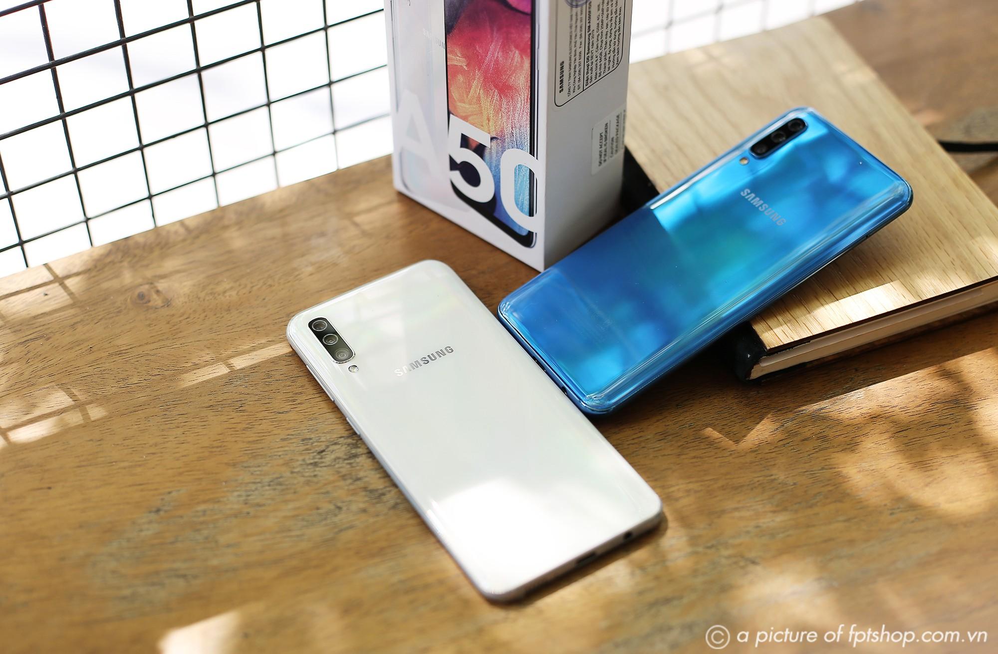 Mua trả góp không lãi suất Galaxy A50 và trúng thêm S10 mỗi ngày tại FPT Shop - Ảnh 2.