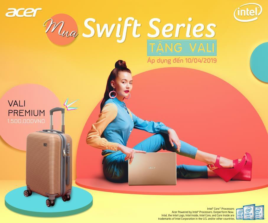 """Cùng Acer Swift Series chào xuân với quà tặng vali cực """"khủng"""" - Ảnh 5."""