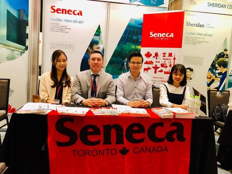 Đến Toronto, Canada, học ở Seneca, tương lai bay xa - Ảnh 3.