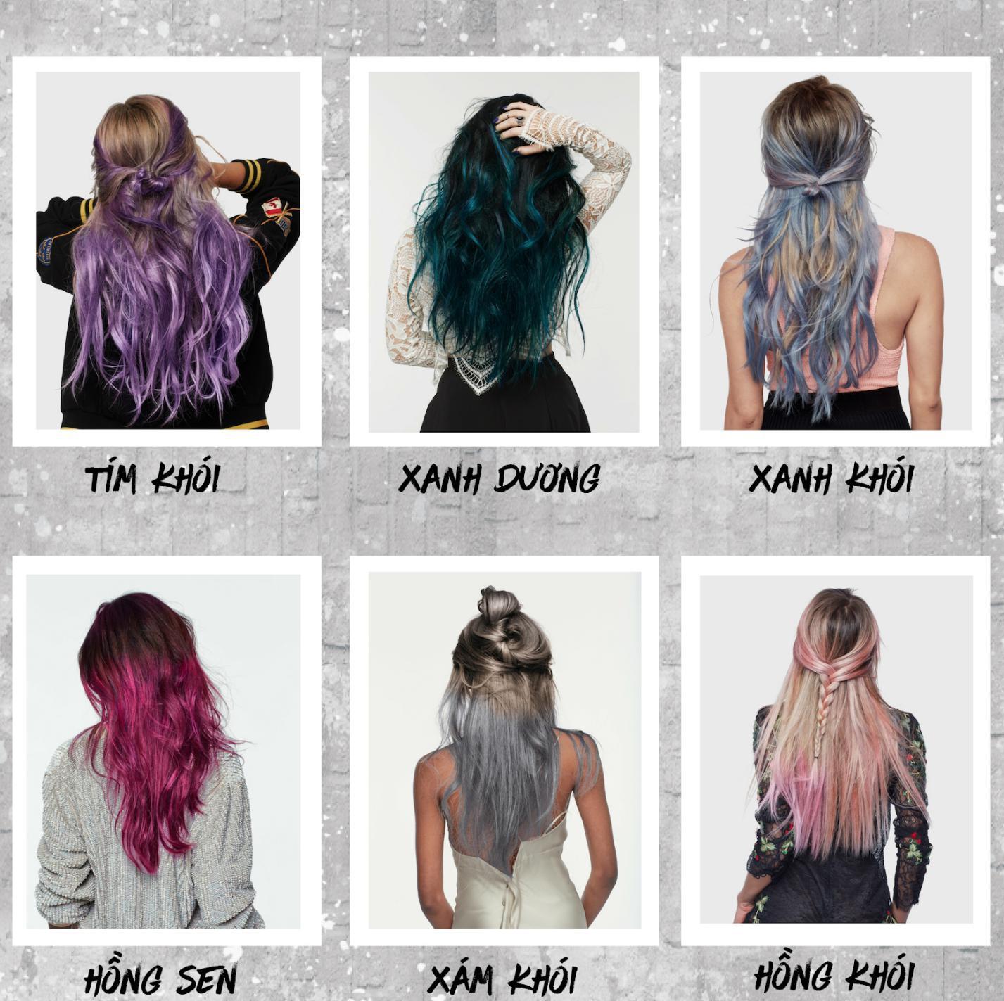 Muốn thử nhiều màu thời thượng mà không sợ hư tóc, đừng lo nay đã có sản phẩm nhuộm tóc 1 ngày! - Ảnh 4.