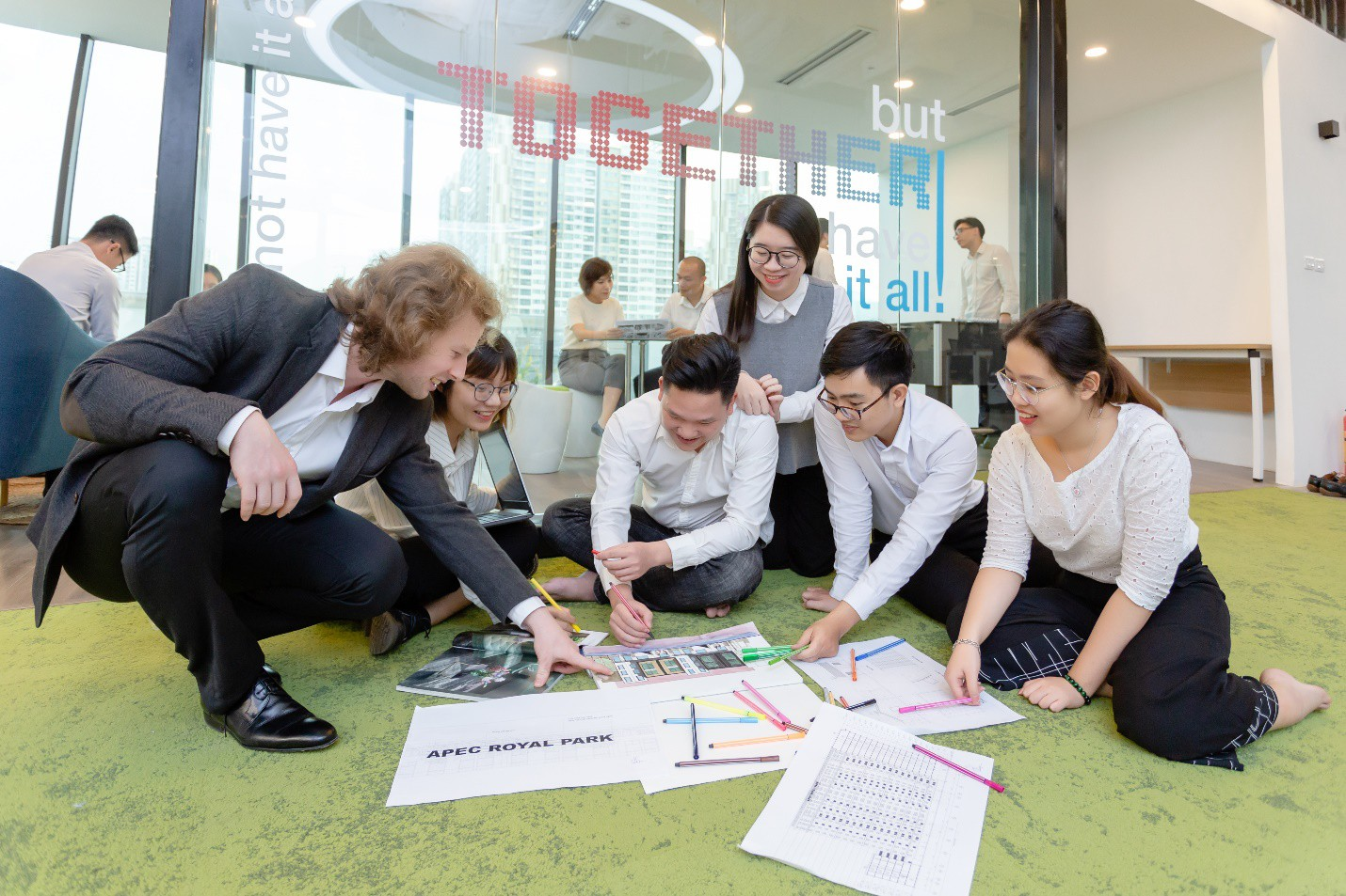 Apec Young & Joy Office – Nơi làm việc trong mơ của nhân viên văn phòng - Ảnh 5.