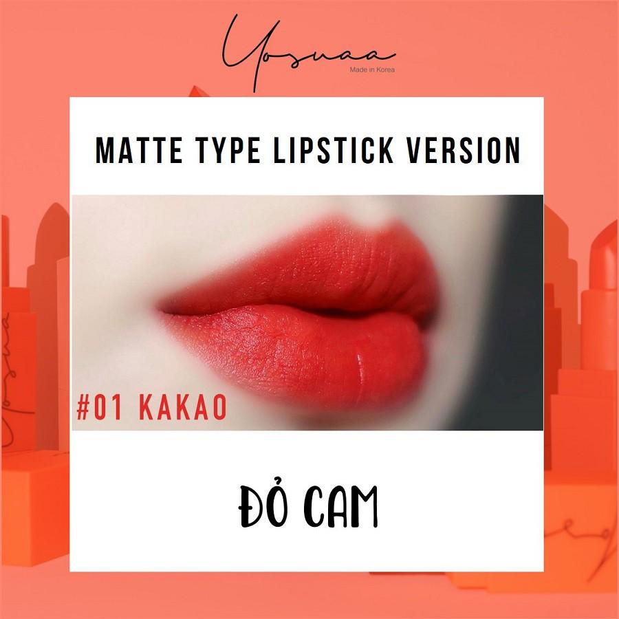 Yosuaa lại đốn tim phái đẹp dịp 8/3 với bộ sưu tập son màu sắc Yosuaa Matte Lipstick Version 3 - Ảnh 5.