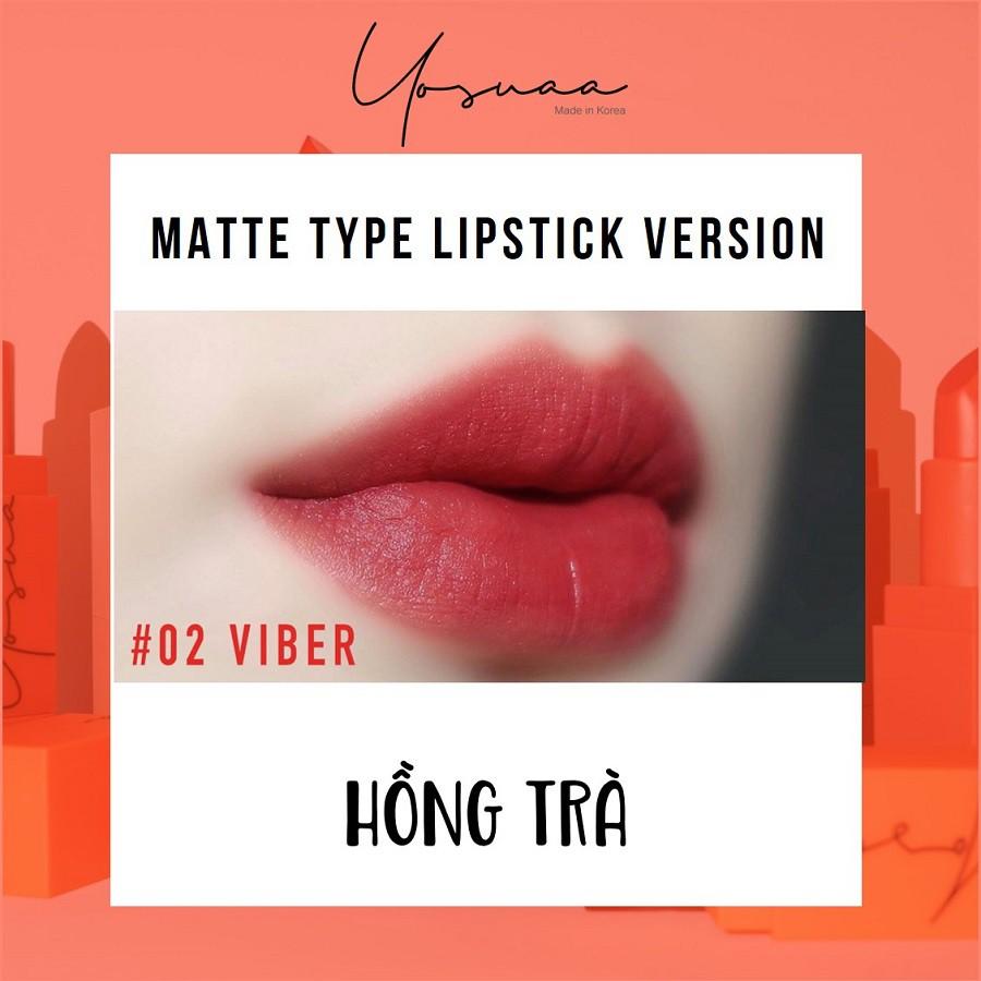 Yosuaa lại đốn tim phái đẹp dịp 8/3 với bộ sưu tập son màu sắc Yosuaa Matte Lipstick Version 3 - Ảnh 6.