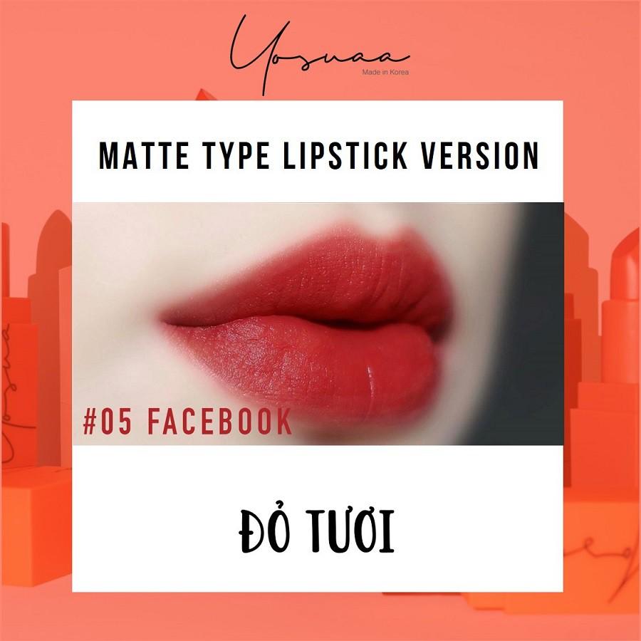 Yosuaa lại đốn tim phái đẹp dịp 8/3 với bộ sưu tập son màu sắc Yosuaa Matte Lipstick Version 3 - Ảnh 9.