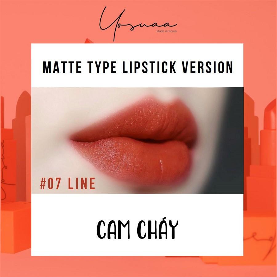 Yosuaa lại đốn tim phái đẹp dịp 8/3 với bộ sưu tập son màu sắc Yosuaa Matte Lipstick Version 3 - Ảnh 11.
