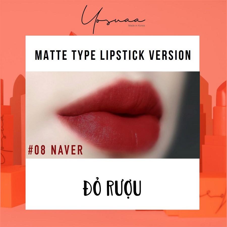 Yosuaa lại đốn tim phái đẹp dịp 8/3 với bộ sưu tập son màu sắc Yosuaa Matte Lipstick Version 3 - Ảnh 12.