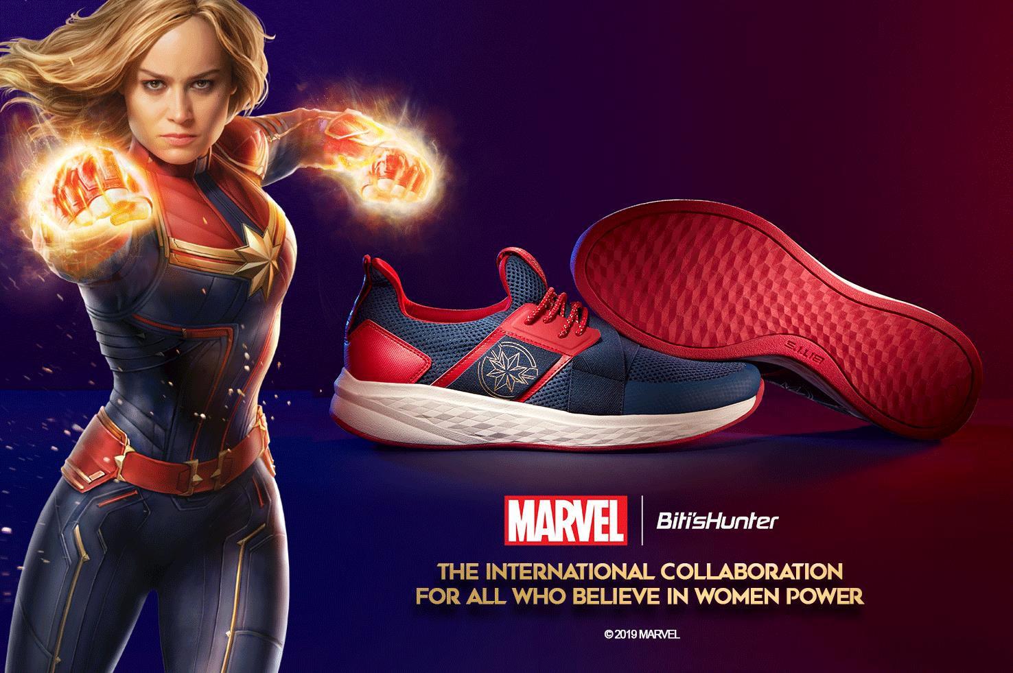 Bitis Hunter cùng Marvel bất ngờ ra mắt phiên bản đặc biệt tôn vinh nữ quyền - Biti's Hunter Captain Marvel - Ảnh 2.