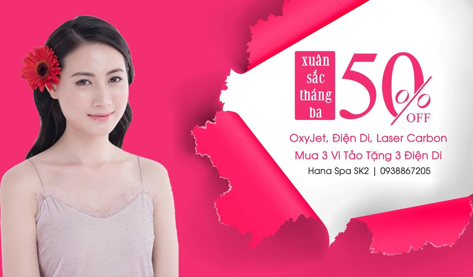 Quà tặng 8/3 hấp dẫn cho các nàng từ HANA Beauty Spa - Ảnh 4.