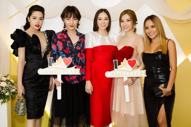 Khổng Tú Quỳnh diện váy bó sát, đẹp rạng rỡ trong ngày lên chức CEO - Ảnh 3.