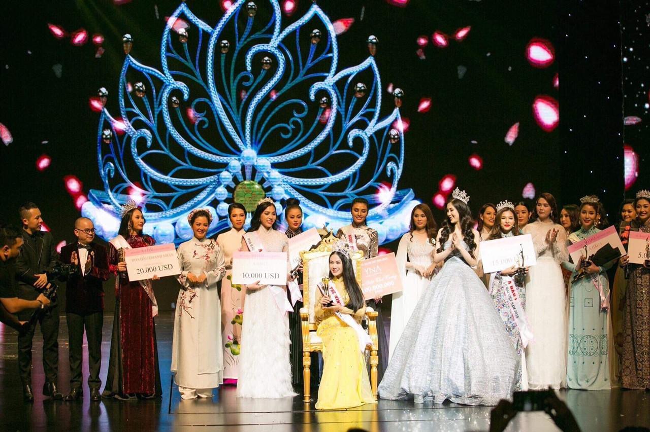Giọng ca Sao Mai đăng quang Hoa hậu Áo dài Việt Nam 2019 - Ảnh 3.