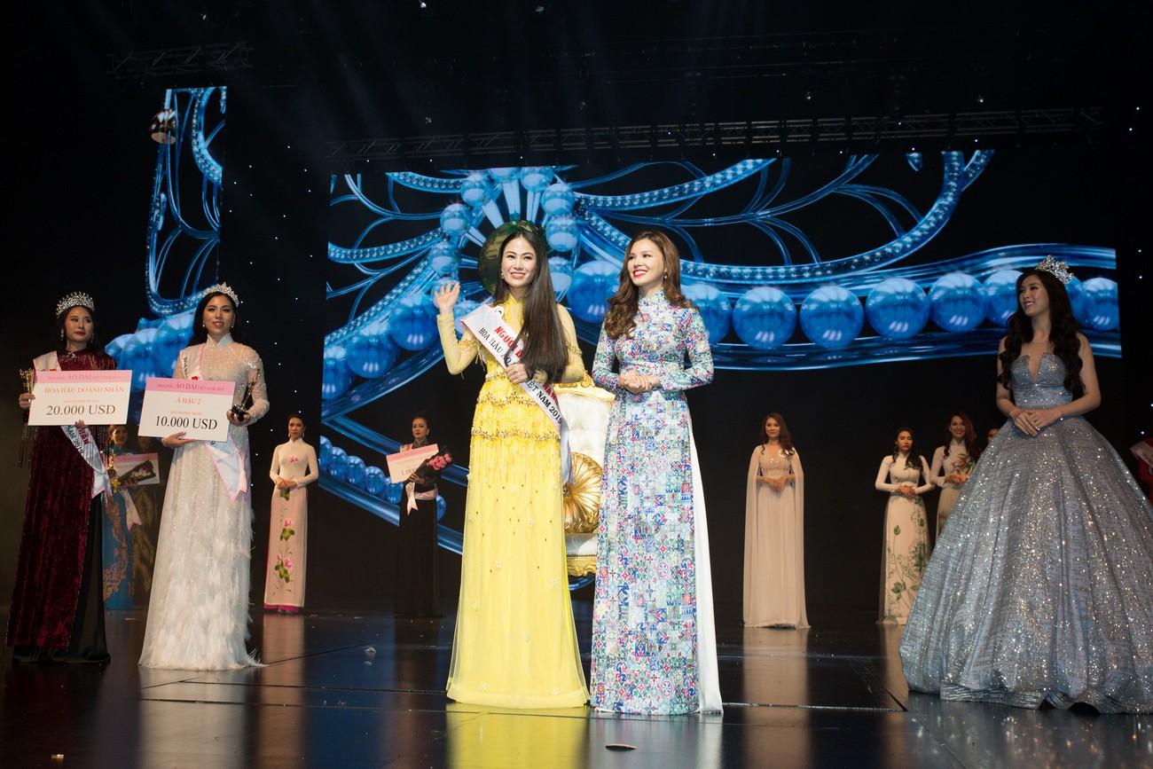 Giọng ca Sao Mai đăng quang Hoa hậu Áo dài Việt Nam 2019 - Ảnh 2.