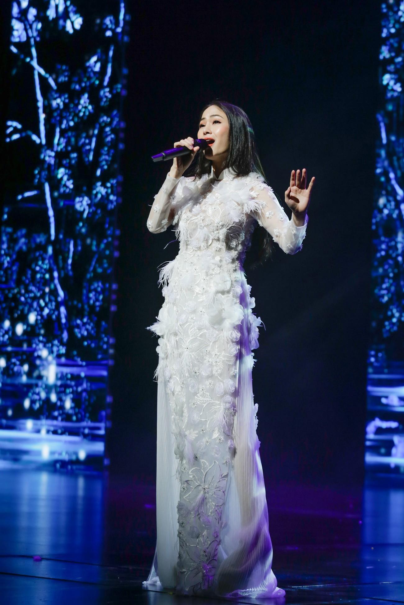 Giọng ca Sao Mai đăng quang Hoa hậu Áo dài Việt Nam 2019 - Ảnh 4.