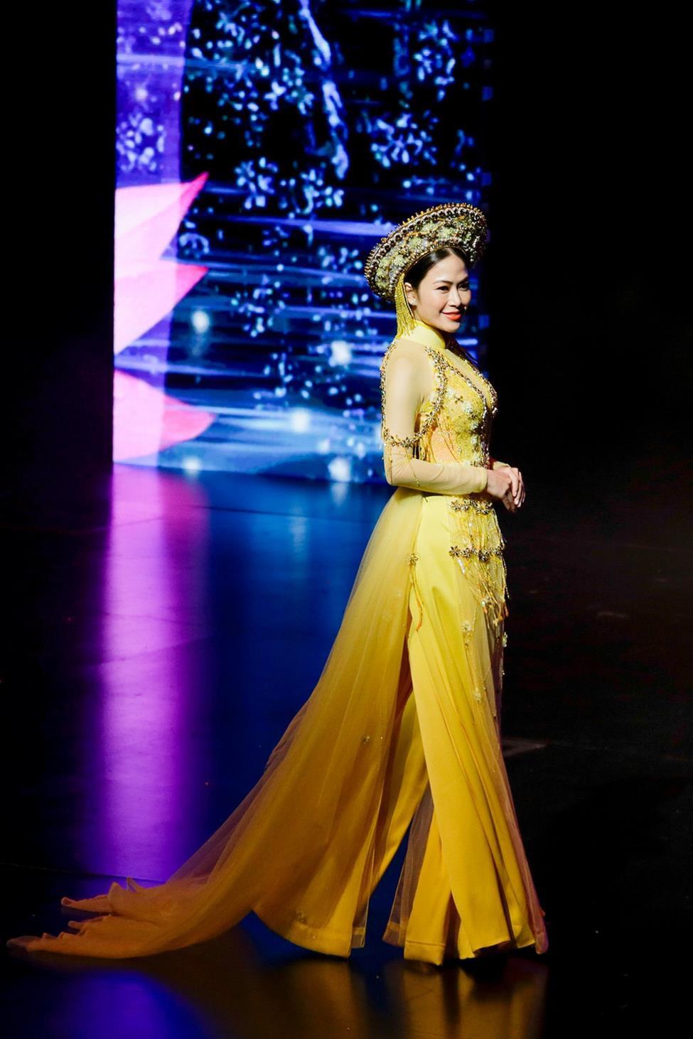 Giọng ca Sao Mai đăng quang Hoa hậu Áo dài Việt Nam 2019 - Ảnh 6.