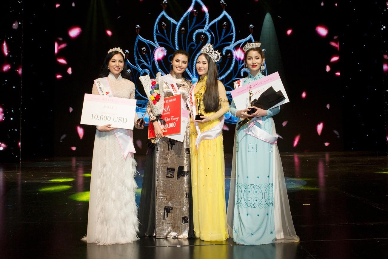 Giọng ca Sao Mai đăng quang Hoa hậu Áo dài Việt Nam 2019 - Ảnh 7.