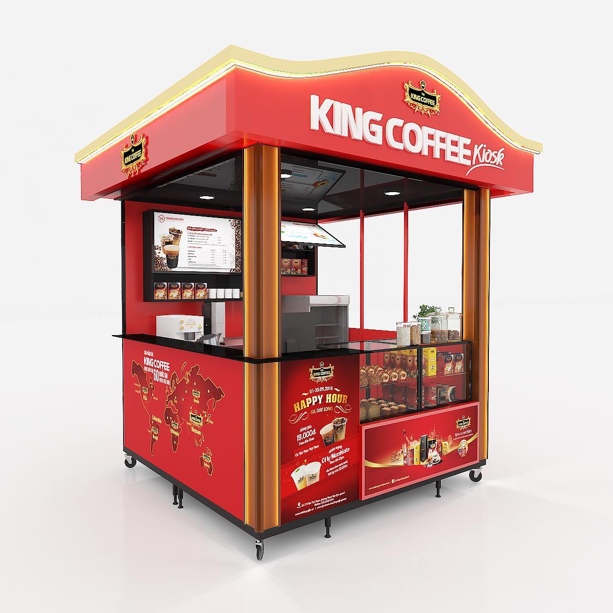 KingCoffeetừng bước ra mắt 3 mô hình cửa hàng tại Việt Nam - Ảnh 5.