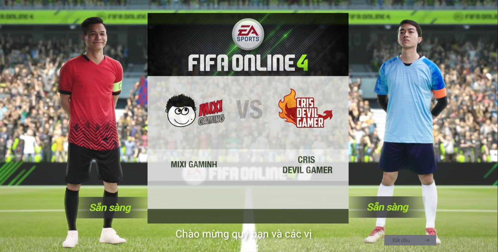 Trận đấu vô tiền khoáng hậu của Phan Văn Đức và Quế Ngọc Hải cùng bộ đôi streamer Độ Mixi, Cris Devil Gamer - Ảnh 2.